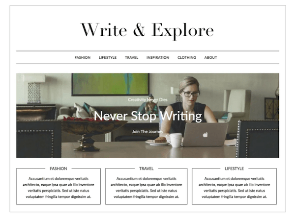 6 Minimalist WordPress Themes For The Minimalist Esthetic