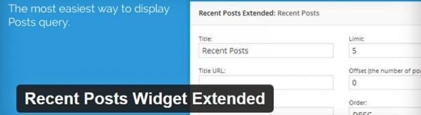3 Flexible WordPress Recent Post Plugins